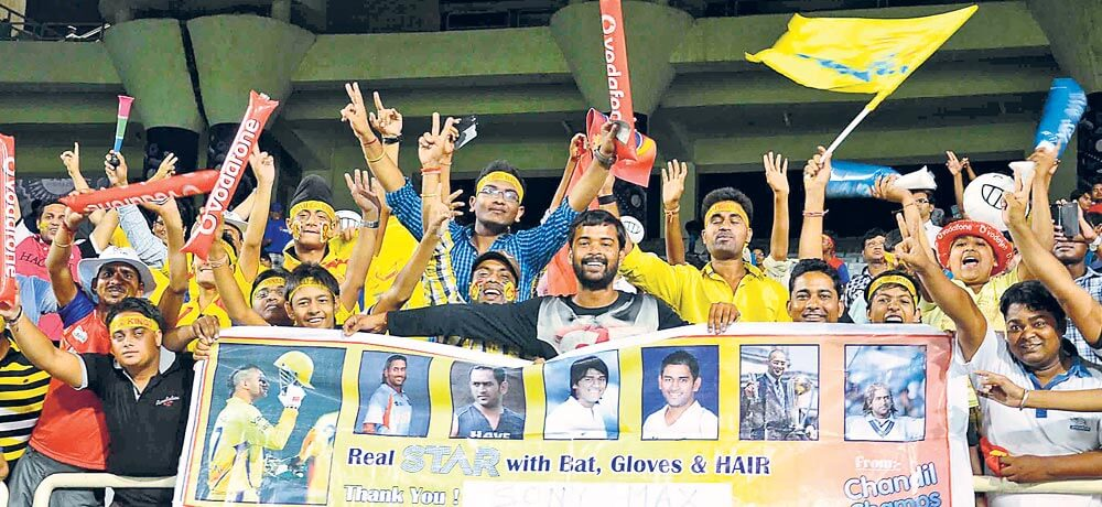 Chennai Superkings and the Royal Challengers